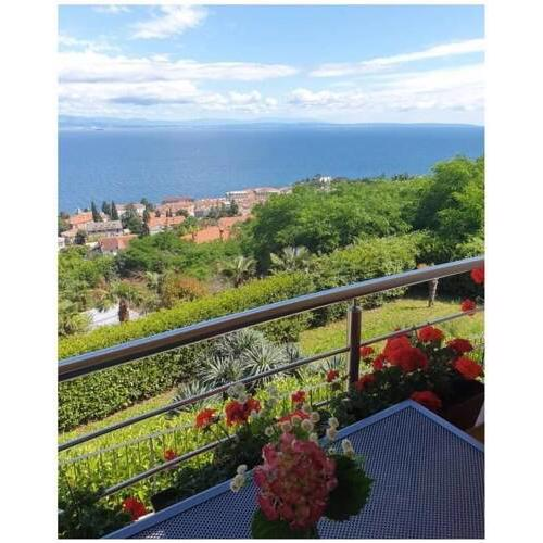Apartment in Opatija with sea view Sylva