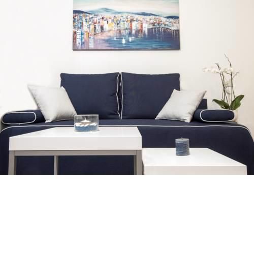 Navy Blue Apartment
