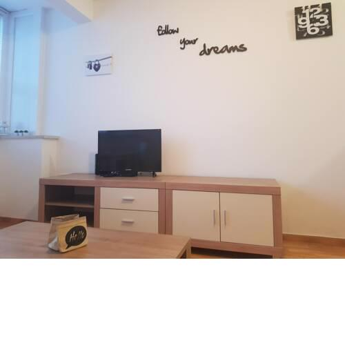 Studio apartment KIKI with a sea view, free WiFi, for 2 persons
